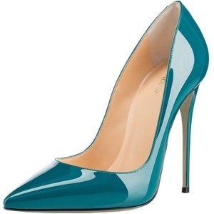 🌾 Monicoco • Stiletto Blue Pump